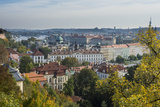 View over Prague from Prague Castle  Prague  Czech Republic  Europe