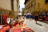 Monthly Antique Market  Arezzo  Tuscany  Italy  Europe