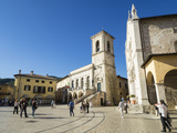 Piazza San Benedetto  Norcia  Umbria  Italy  Europe