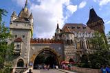 Vajdahunyad Castle  Budapest  Hungary  Europe