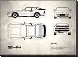 Porsche 944 Turbo White