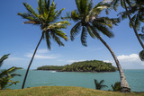 View of Saint Joseph from the Royal Island  Iles Du Salut  French Guiana  Department of France