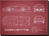 Corvette C3-Maroon