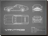 Aston V8 Vantage-Grey