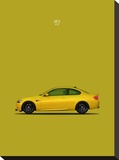 BMW M3 E92 Yellow