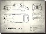 Jaguar Mk VII White