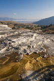 Mammoth Hot Springs Terraces  Yellowstone National Park  Wyoming  United States of America