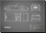 Austin-Healey 100-Grey