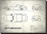 Toyota GT2000 White