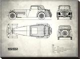 Jaguar SS-100 White