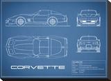 Corvette C3-Blue