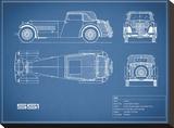 Jaguar SS1-Blue
