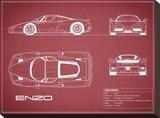 Ferrari Enzo-Maroon