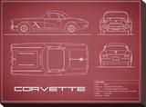 Corvette 33BHP-Maroon