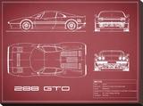 Ferrari 288-GTO-Maroon