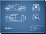 Mercedes SSK-Blue