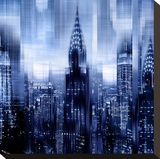 NYC - Reflections in Blue I