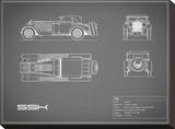Mercedes SSK-Grey