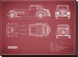 Jaguar SS1-Maroon
