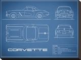 Corvette 33BHP-Blue