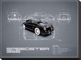 Porsche Speedster 1959 White