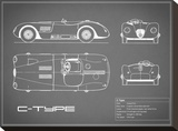 Jaguar C-Type-Grey