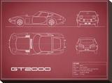 Toyota GT2000-Maroon