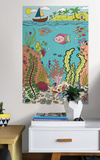 The Reef Coloring Wall Decal