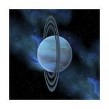 Artist's Concept of Planet Uranus
