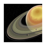 Artist's Concept of Planet Saturn