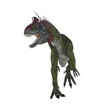Cryolophosaurus Dinosaur  White Background