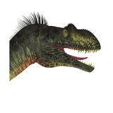 Close-Up of a Menacing Megalosaurus