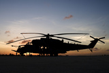 An Ah-2 Sabre at Sunset in Natal  Brazil