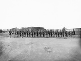 Infantry on Parade During American Civil War