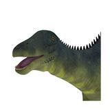 Brachytrachelopan Dinosaur Portrait