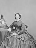 Portrait of Miss Clara Barton  Circa 1866
