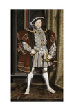 Vintage English History Painting of Henry Viii of England