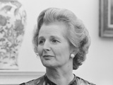 Vintage Photo of Margaret Thatcher