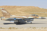 Israeli Air Force F-16 at Nevatim Air Base  Israel