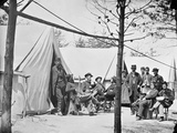 Camp of Captain (GFW Wiley) Assistant Quartermaster  Stoneman's Station  Virginia