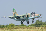 A Bulgarian Air Force Su-25 Jet During Exercise Thracian Star