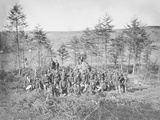 Group Photo of the 170th New York Infantry During the American Civil War