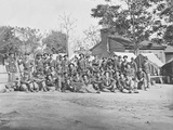 Group Photo of the 44th Indiana Infantry During the American Civil War