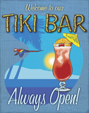 Tiki Bar Always Open