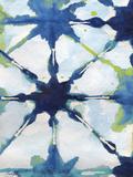 Green and Blue Shibori II