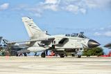 An Italian Air Force Tornado Ecr at Trapani Air Base  Italy