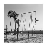 Venice Beach Rope Climber