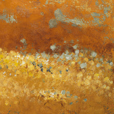 Flower Fields II Reproduction d'art par Lanie Loreth