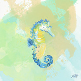 Watercolor Sea Creatures III