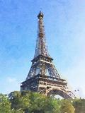 Watercolor Streets of Paris II